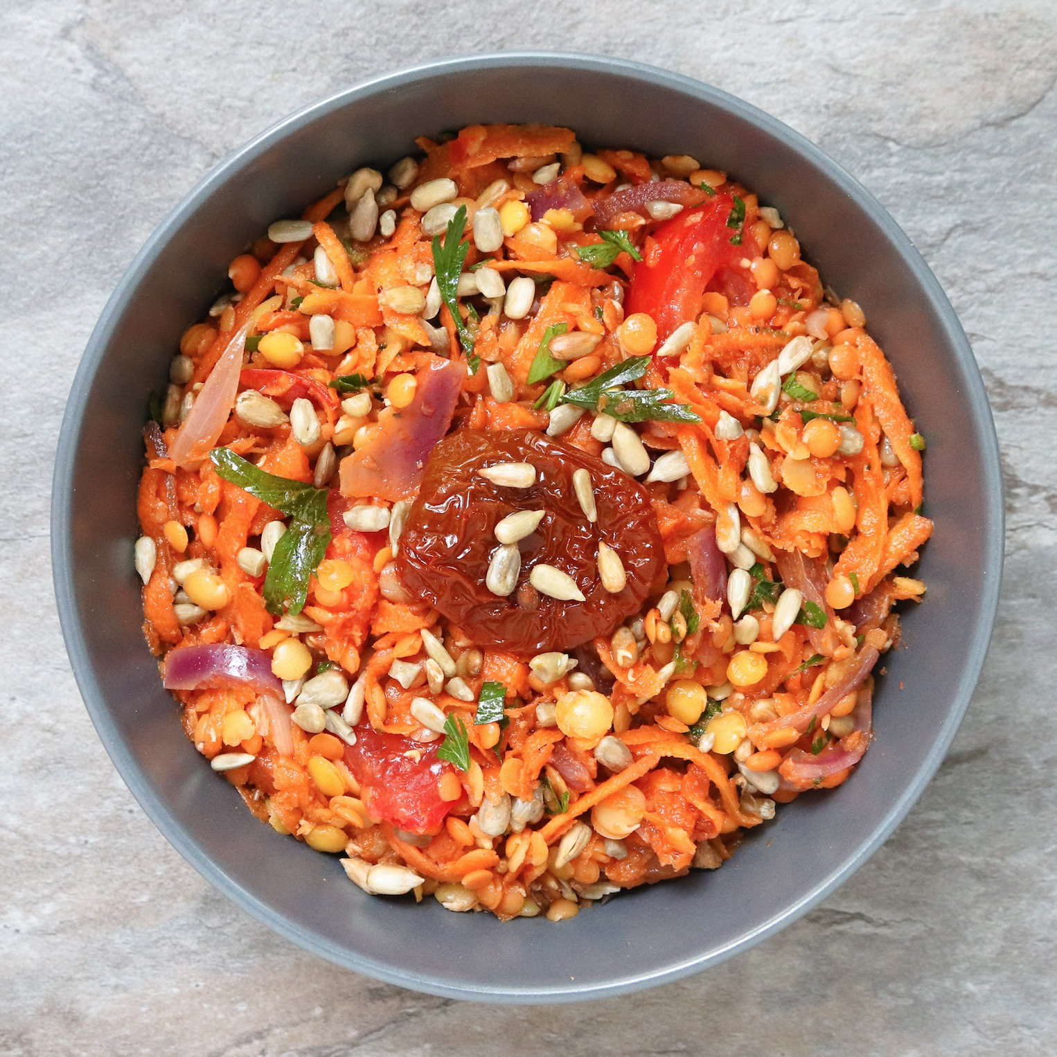 Power-Linsen-Salat