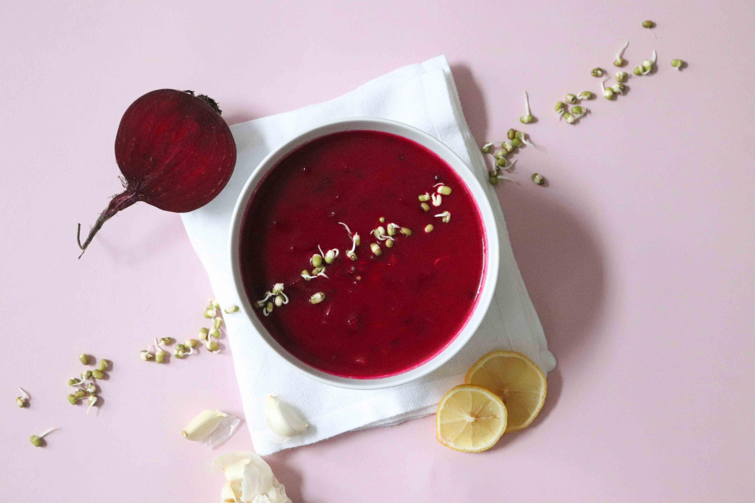 Rezept Rote-Bete-Borschtsch basisch
